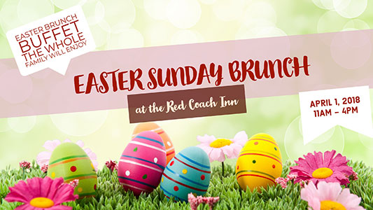 Easter Sunday Brunch 2018 Banner