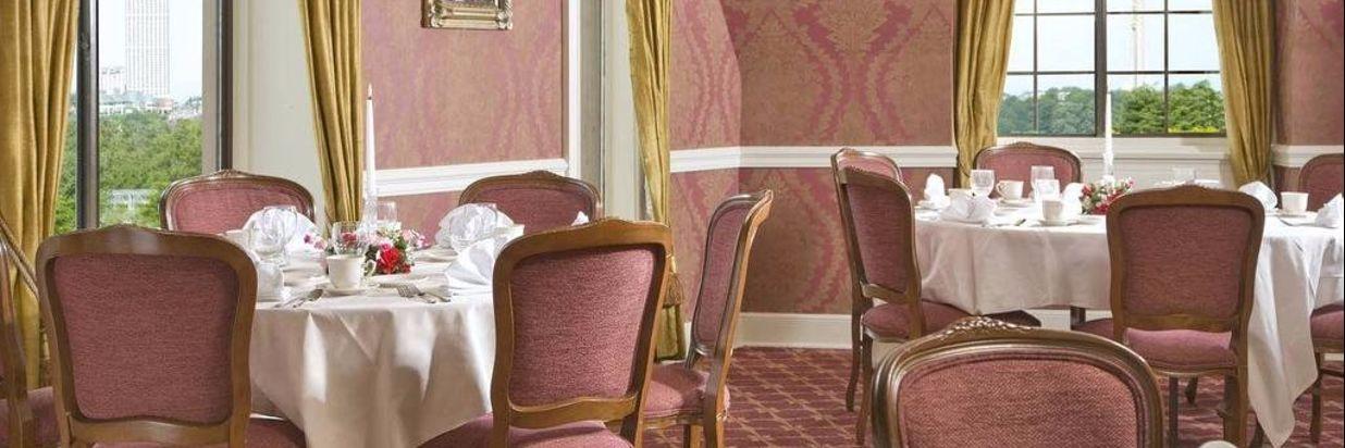 pink banquet room